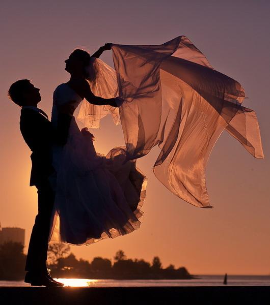sur la plage de mariage