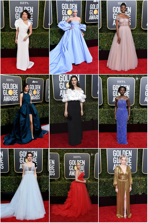 robes de stars longues aux golden globes 2019_conew1