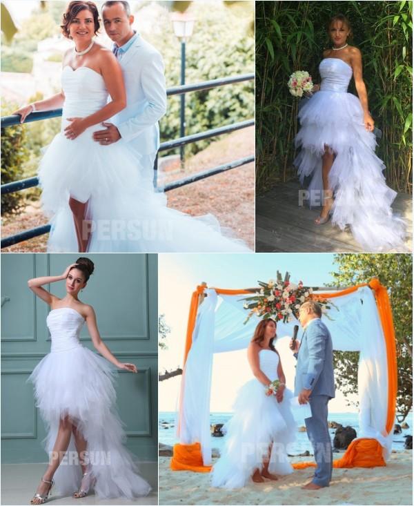 robe de mariée style bascule jupe à volants