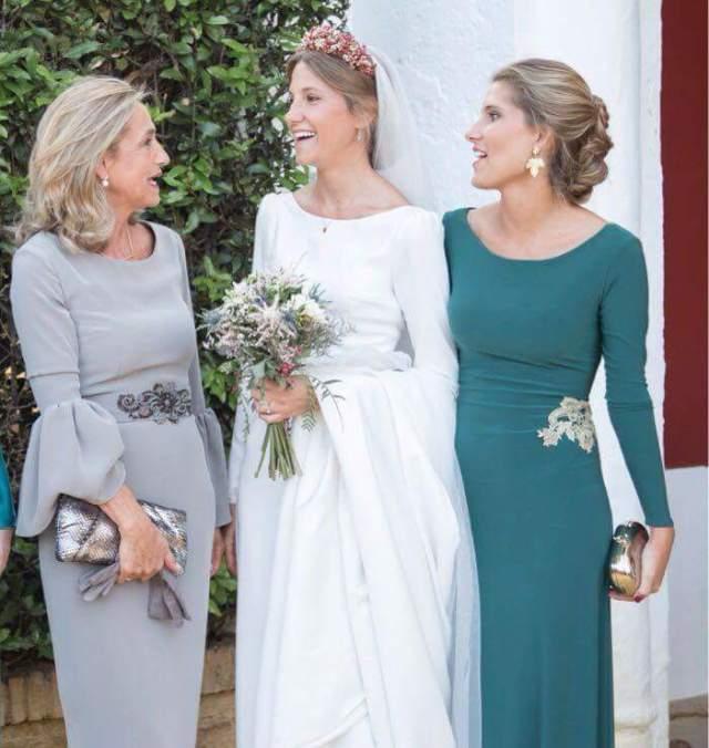 robes mère de mariée élégantes avec manche