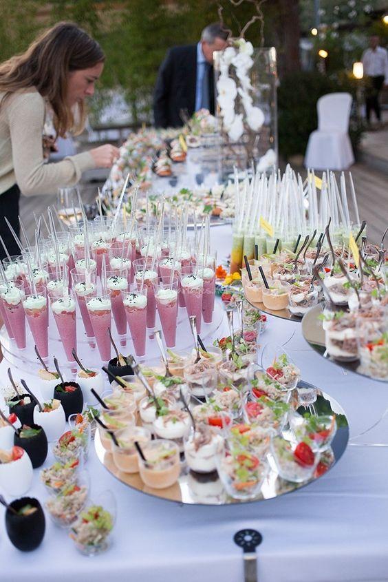 buffet pour mariage été