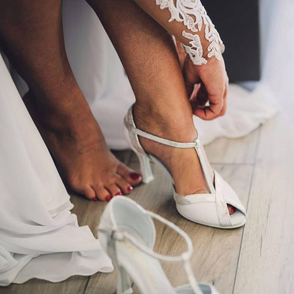 porter chaussures de mariée